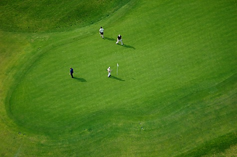 LA Golf Course Aerial Photographer