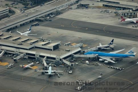 LAX Terminal 2 Aerial Photo