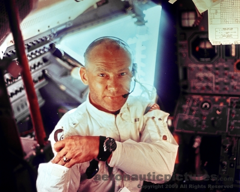 buzz aldrin apollo 11 stock photo