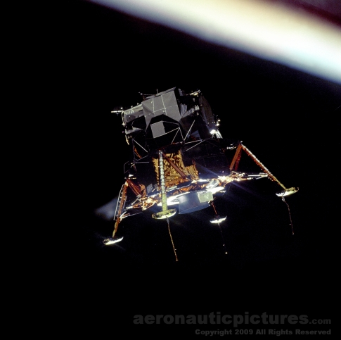 lunar module apollo 11 stock photo