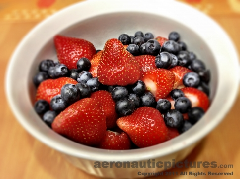 Bowl of Berries - Cheap Photos - Food Stock Photography