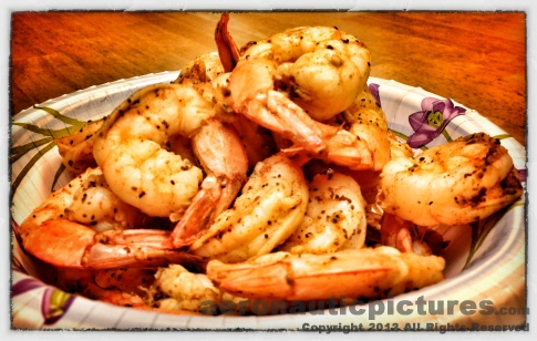 Shrimp Food Stock Photography
