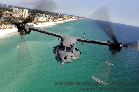 Stock Photo - CV-22 Osprey Tiltrotor - US Air Force Special Operations picture