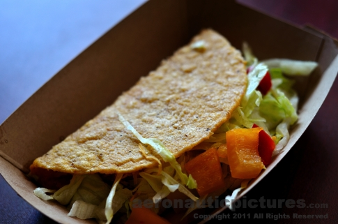 Hard Shell Taco - Food Stock Photo